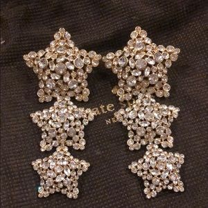 Kate Spade Bright Star Statement Earrings
